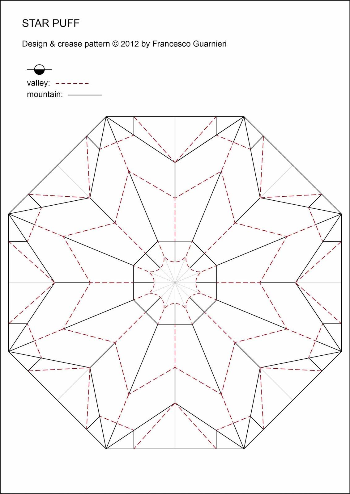 Origami Poesie Di Carta Star Puff